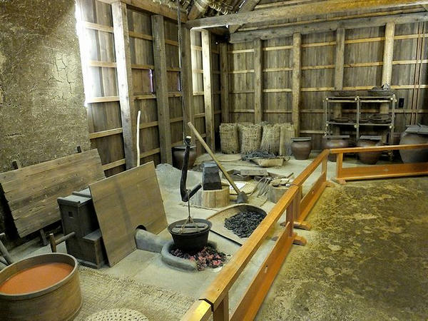鍛冶工房の内部