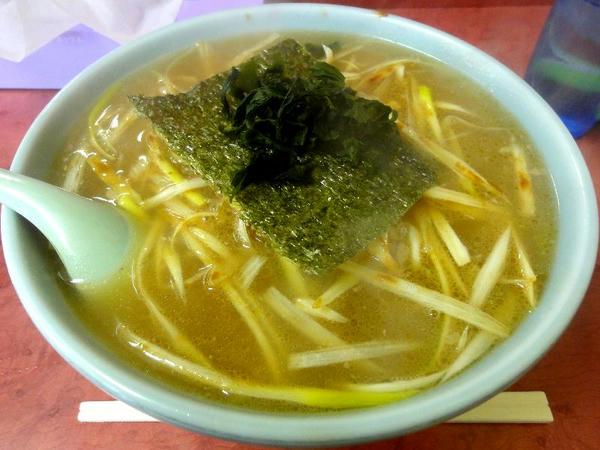 ネギ味噌ラーメン(普) 730円
