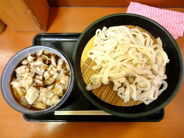 肉ねぎ汁うどん 580円