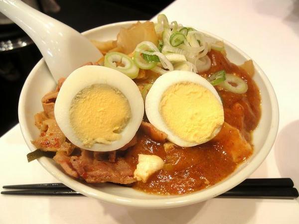 半蒙古丼 480円