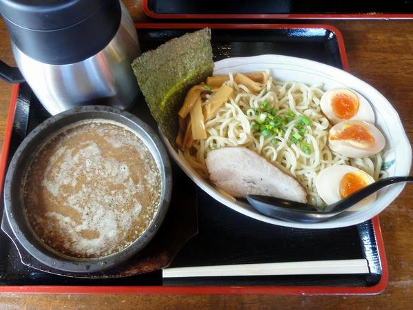 ぶし味噌つけ麺 780円 + 味玉 100円