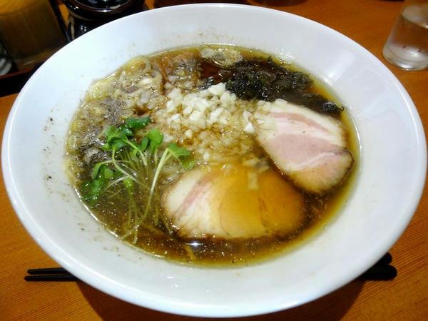 煮干しらー麺(150g) 500円
