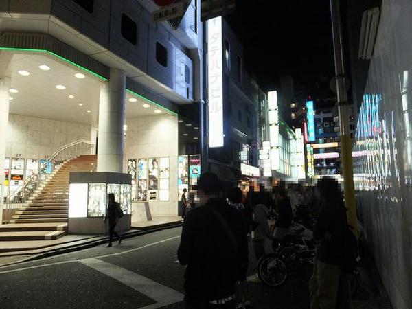 新宿LOFT前