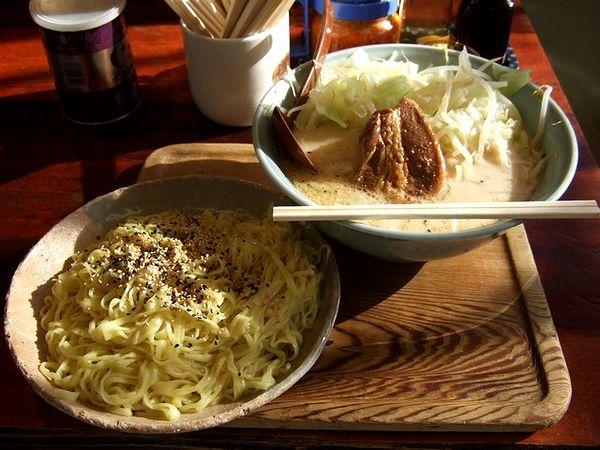 肉ミルクつけ麺 1000円