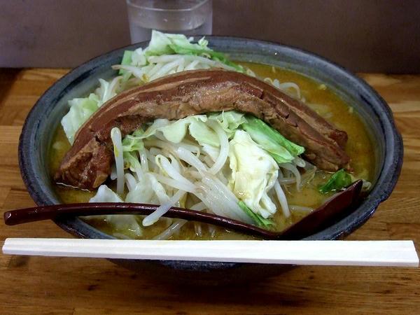 肉ミルクカレーラーメン 1200円