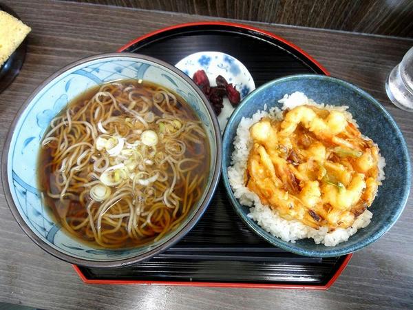 海鮮かき揚げ丼セット 600円