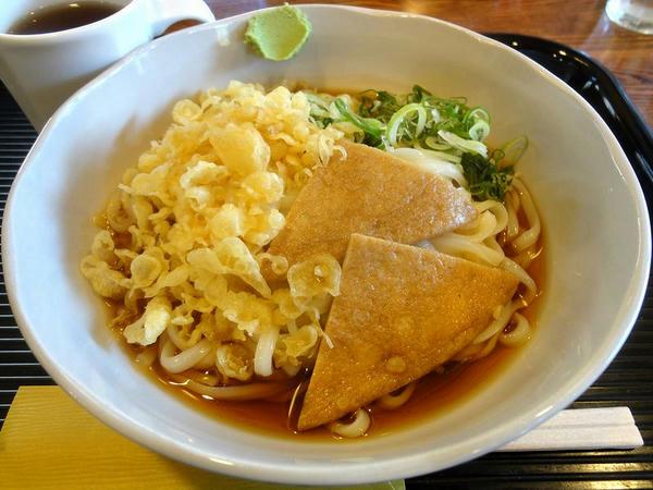 たぬきうどん(冷) 550円