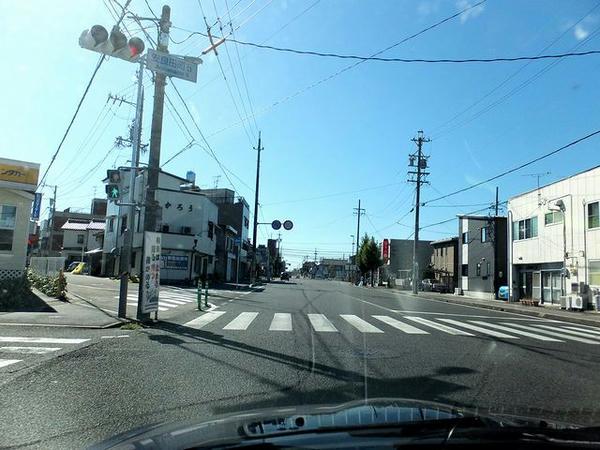 岐阜市からお隣の笠松町へ