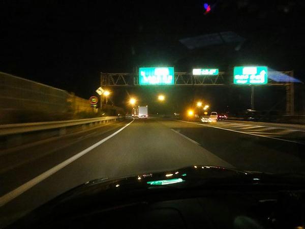 小牧JCTから中央道へ