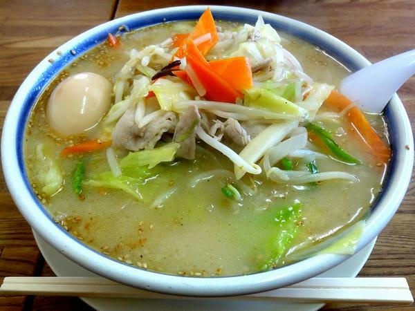 味玉野菜ラーメン(しお味) 780円