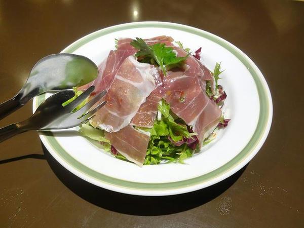 イタリア産生ハムサラダ 650円
