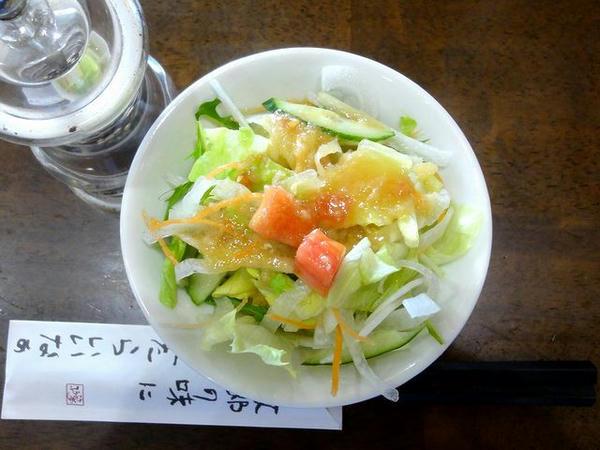 焼き餃子ランチ(小ライス)のサラダ