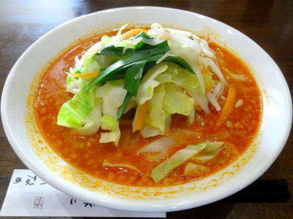 ピリ辛味噌拉麺 700円