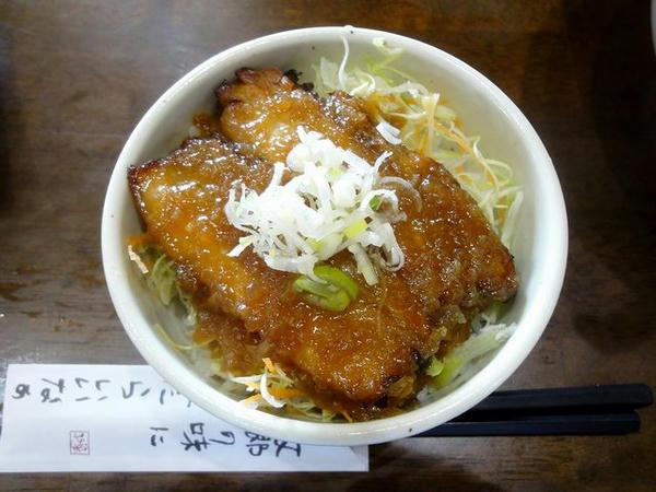 本日の気まぐれセット 230円 の炙り丼チャーシュー