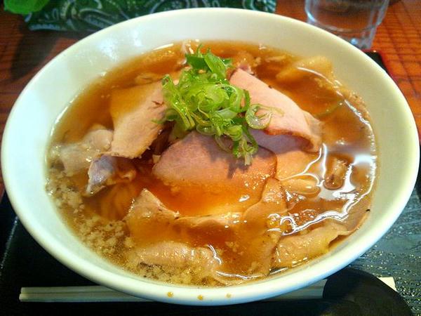 炭火焼ちゃあしゅう麺(正油) 829円