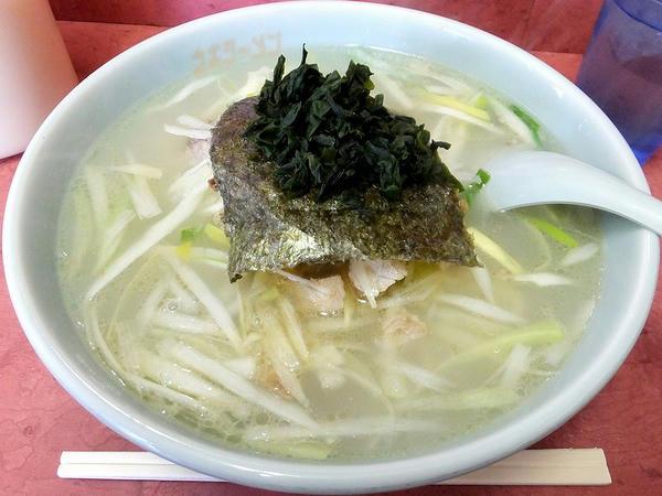 ネギ塩ラーメン(普) 730円
