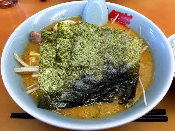 特製味噌ネギラーメン(脂普通・味普通・麺普通) 790円 + 半ライス 110円