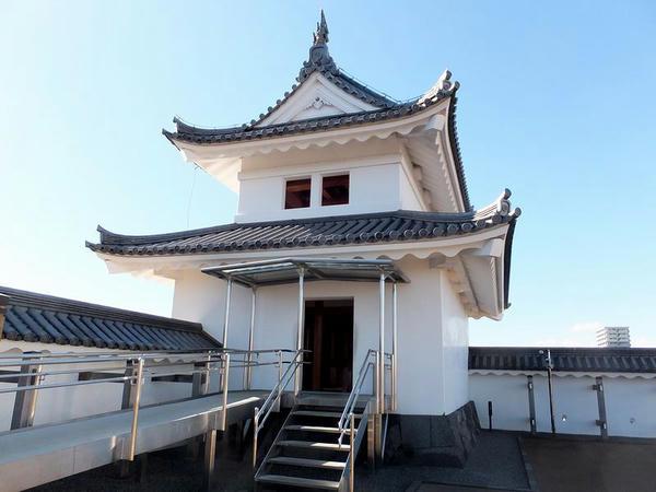 裏側から見た富士見櫓