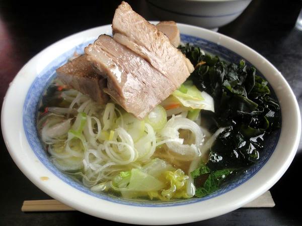 塩野菜ら~めん 750円