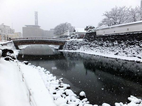 堀と遊亀橋