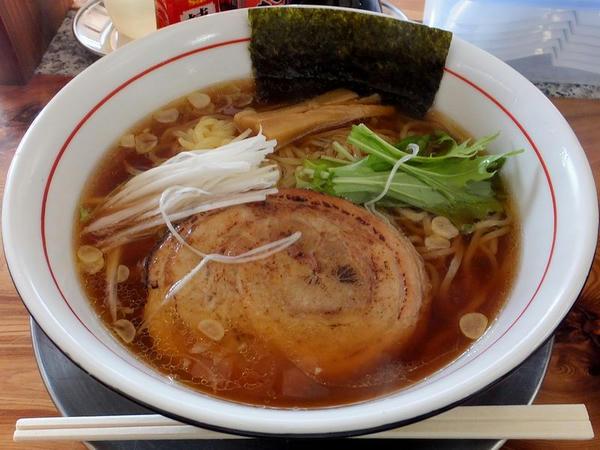 醤油ラーメン(細麺) 680円