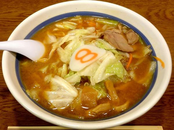 野菜らーめん(味噌らーめん) 567円