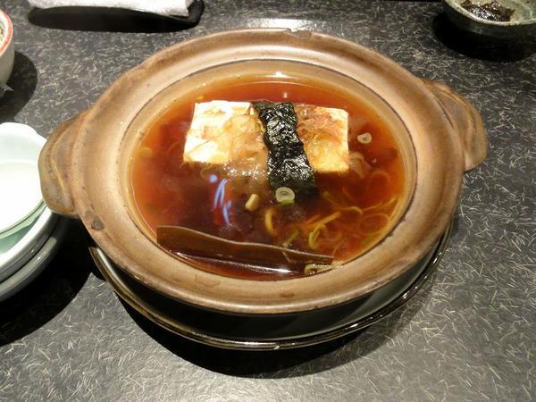 湯豆腐 500円