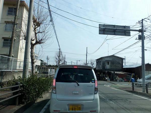 局所的に混雑していた小田原市内