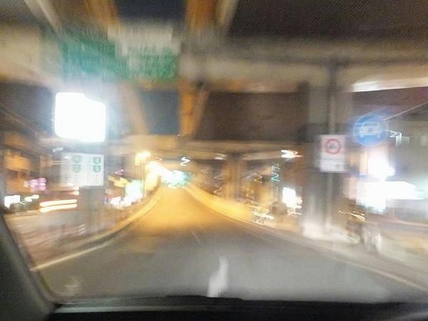 池尻入口から首都高速へ