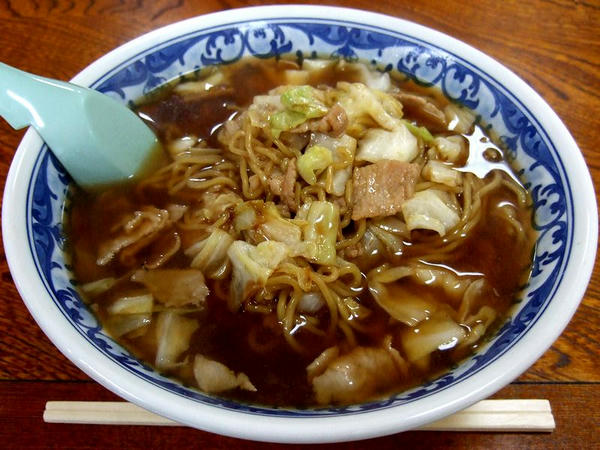 スープ入り焼きそば(大) 700円