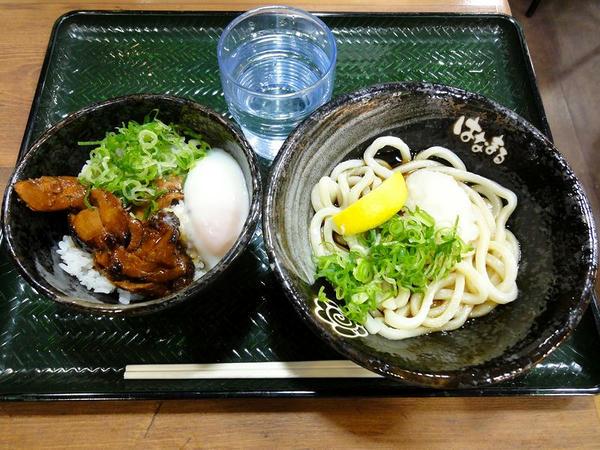 鶏丼セット(ぶっかけ小・温) 599円