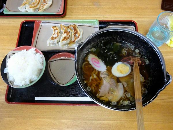 ラーメン定食(Aセット) 850円