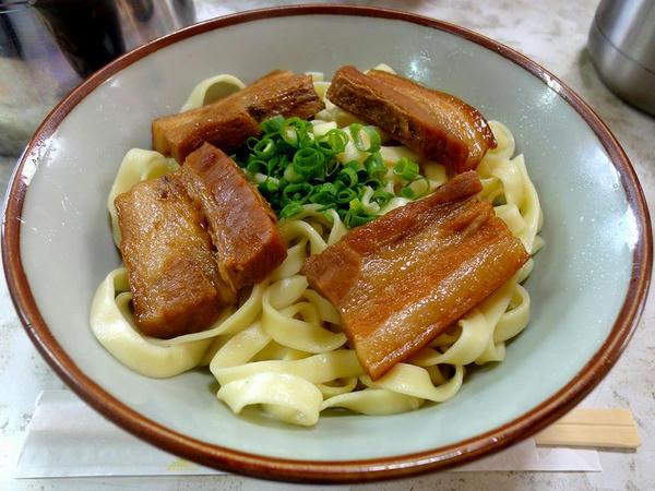 三枚肉そば(小) 450円