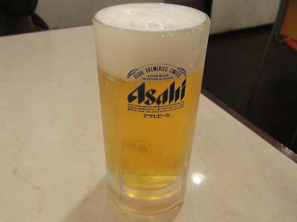 生ビール(中) 480円