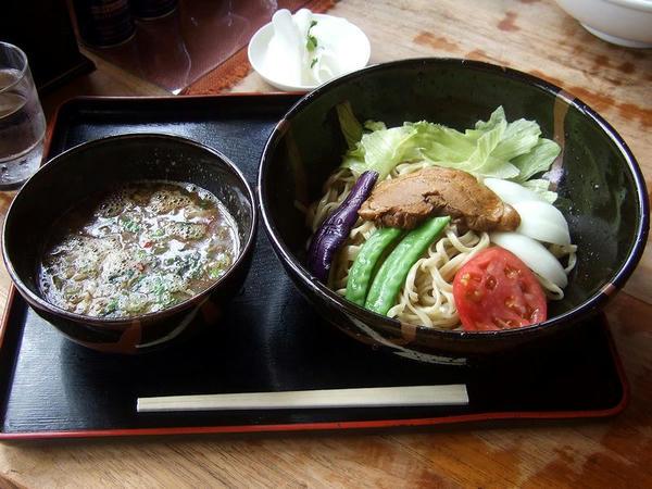 花の季つけ麺夏バージョン(味噌味) 800円