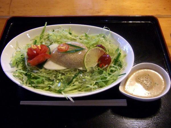 冷やし夏菜麺(なつなめん) 800円