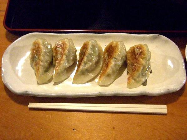 野菜餃子 380円