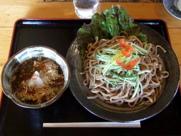 夏のつけ麺 800円