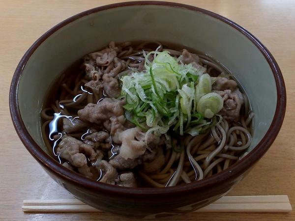 肉そば 550円【税込】