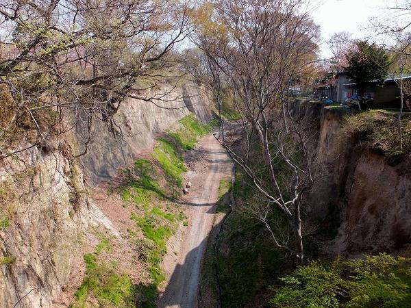 白鶴橋から見た木谷