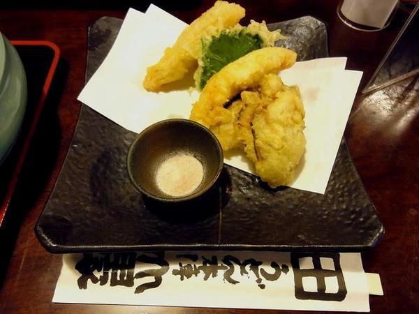 讃岐でんぶくとかきの天ぷら 680円
