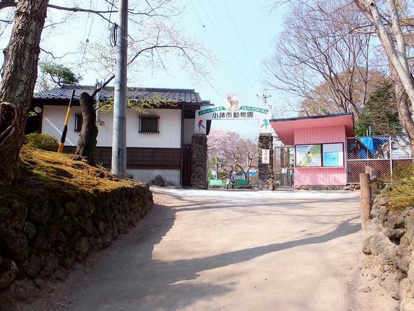 小諸市動物園入口