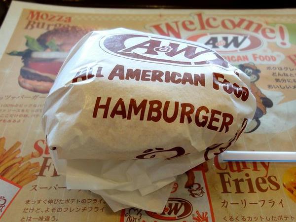 ハンバーガー 180円