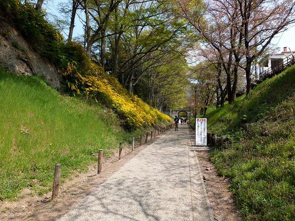 二の丸の堀跡