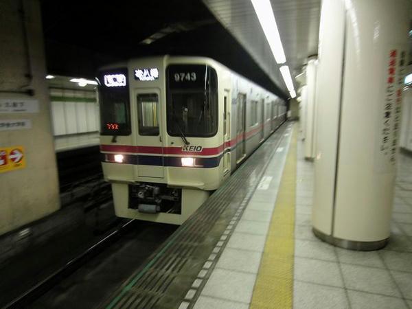 九段下駅から都営新宿線に乗車