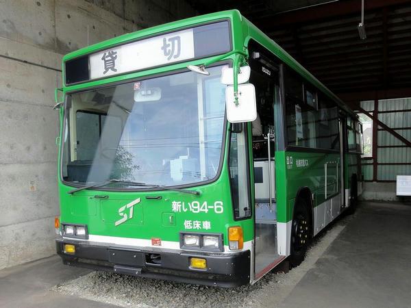 市営バス(新塗装車) いすゞキュービック
