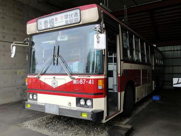 市営バス(旧塗装車) 日野ブルーリボン