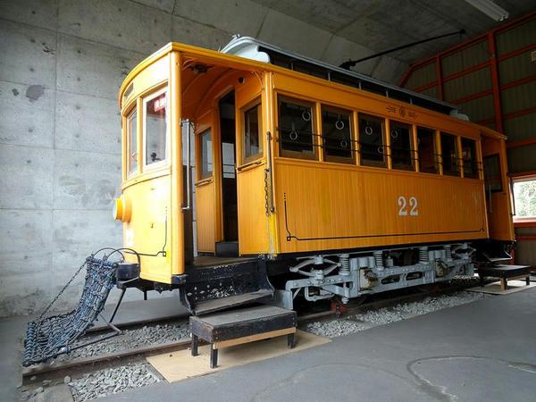 木造2軸電動客車 10形(22)