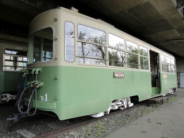 鋼製2軸ボギー電動客車 Tc1形(Tc1)