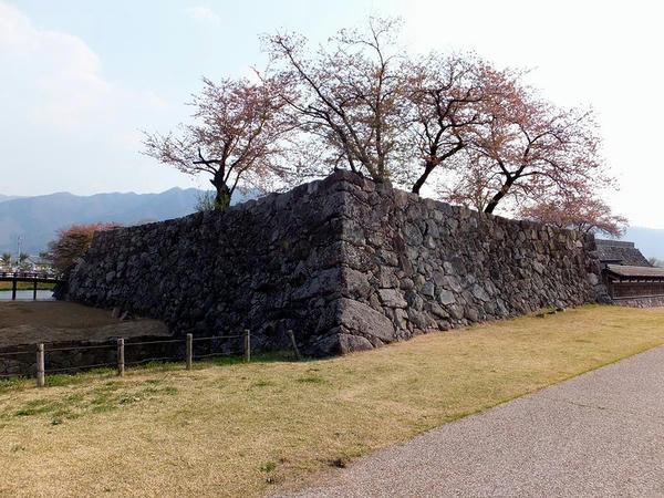 本丸北東の櫓台